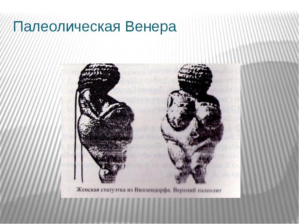 Палеолическая Венера