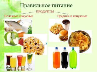 Вредная и полезная еда
