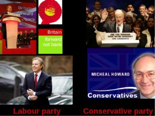 Blair Labour party Conservative party
