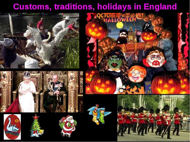 Customs, traditions, holidays in England