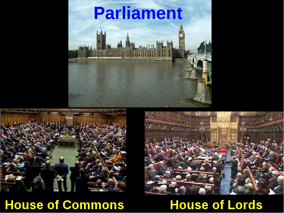 Parliament House of Lords House of Commons