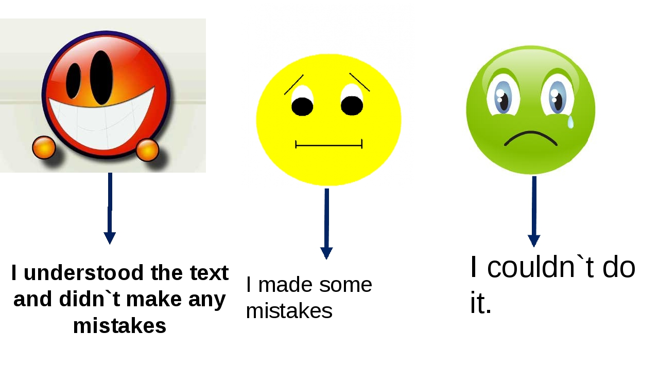 I understood the text and didn`t make any mistakes I made some mistakes I co...