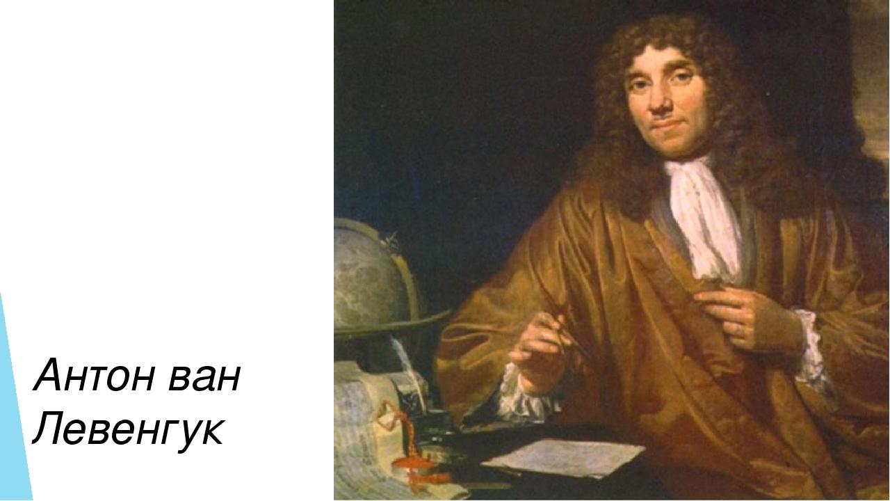 Антон ван Левенгук
