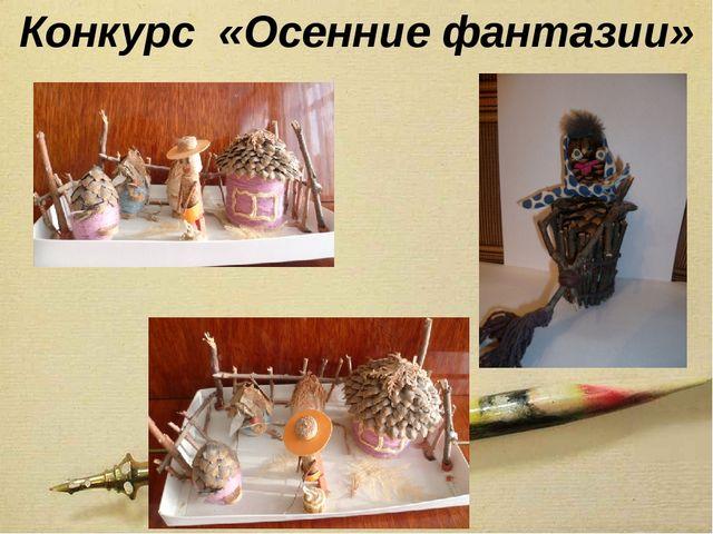 Конкурс «Осенние фантазии»