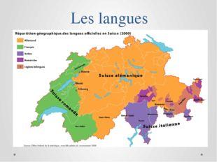 Les langues