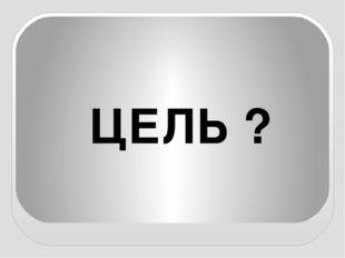 ЦЕЛЬ ?