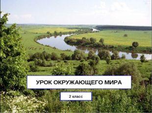 УРОК ОКРУЖАЮЩЕГО МИРА 2 класс