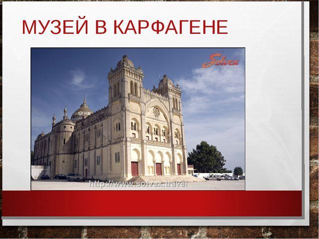 МУЗЕЙ В КАРФАГЕНЕ