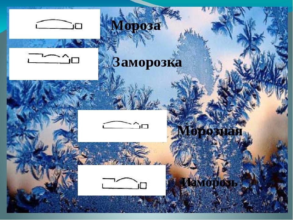 Мороза Заморозка Морозная Изморозь