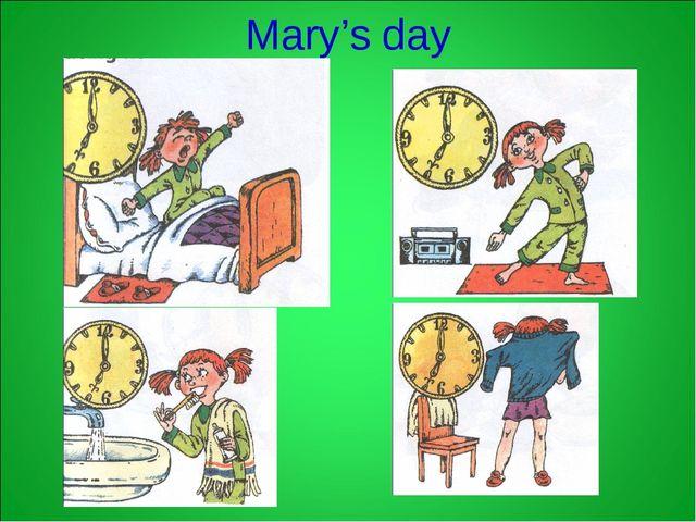 Mary's day