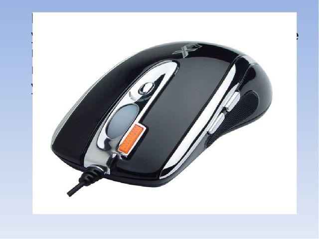 Мышь, мышка - указательное устройство компьютера, перемещаемое по столу и им...