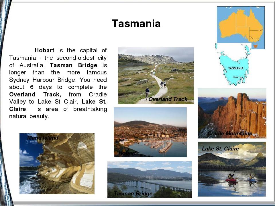 Tasmania Cradle Mountains Maria Island OverlandTrack Lake St. Claire Tasman...
