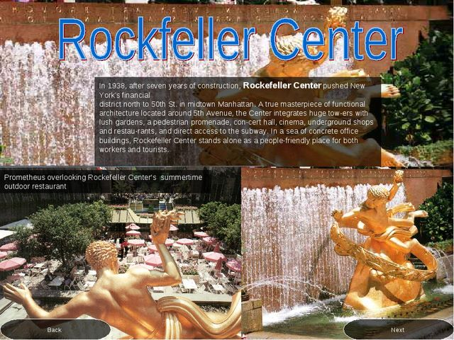 In 1938, after seven years of construction, Rockefeller Center pushed New Yor...