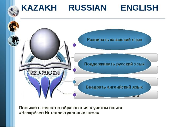 KAZAKH RUSSIAN ENGLISH Add Your Text in here Add Your Text in here Add Your T...