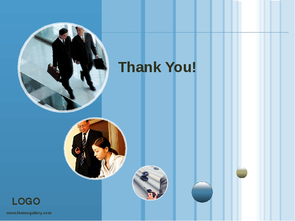 Thank You! www.themegallery.com LOGO