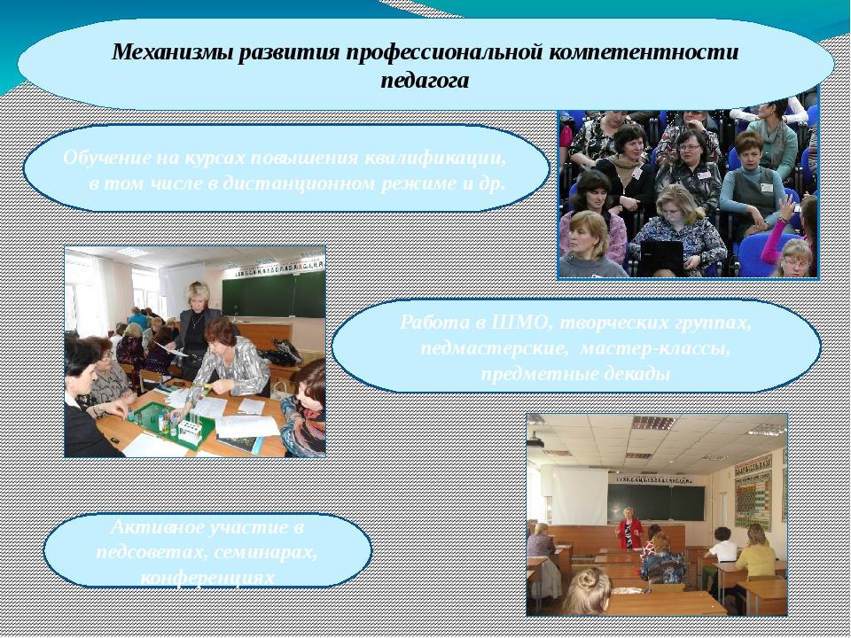 Обучение на курсах повышения квалификации, в том числе в дистанционном режим...