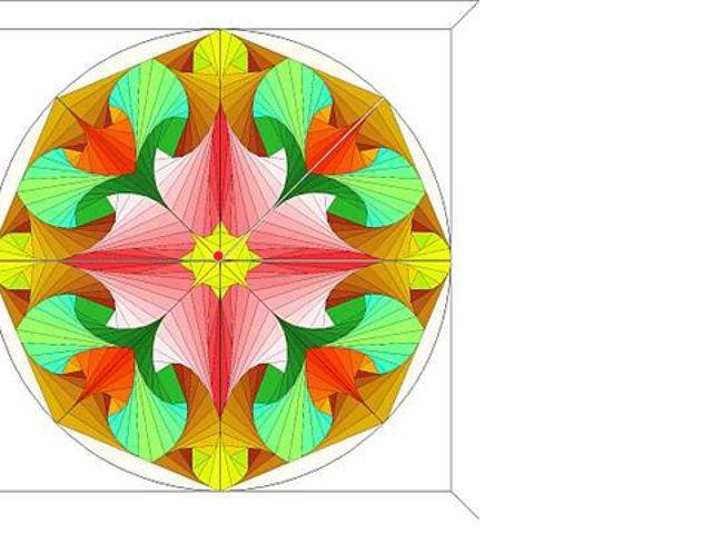 Многим творениям человеческих рук умышленно придается симметричная форма как...
