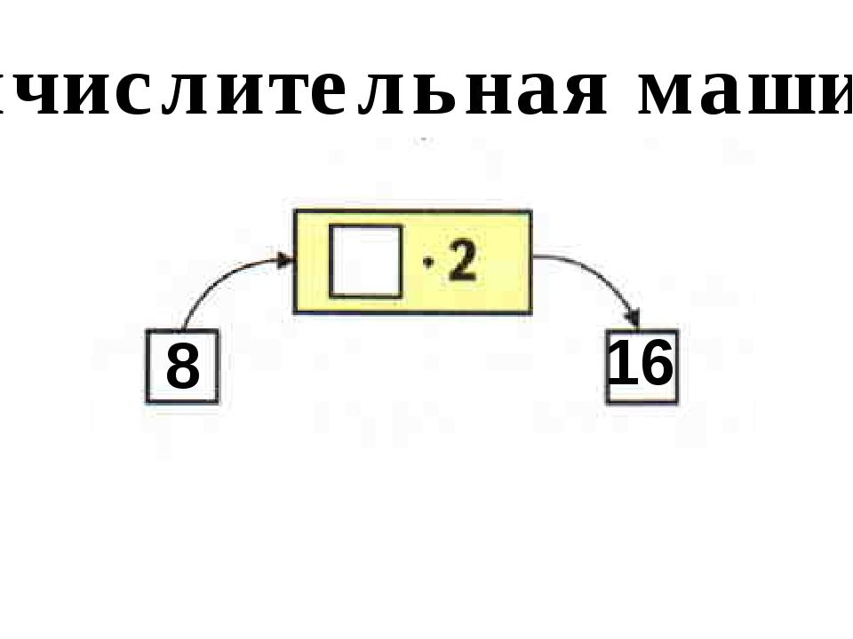 Вычислительная машина 8 16