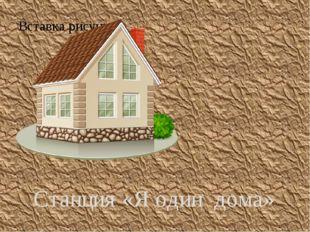Станция «Я один дома»