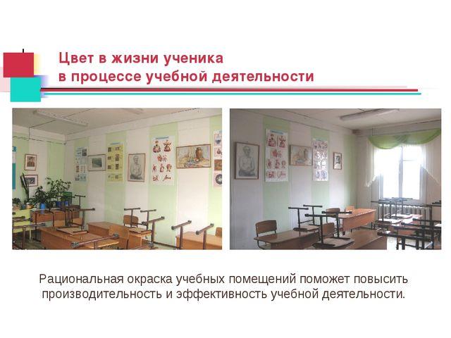 Цвет в жизни ученика в процессе учебной деятельности Рациональная окраска уче...