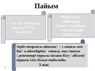 Моральдық пайымдау Пиаже, Кохлберг-Өнегелі даму теориясы Ұқсастық бойынша Пи