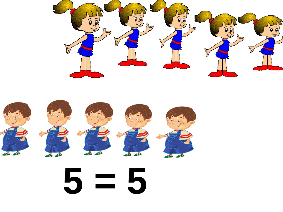 5 = 5