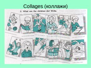 Collages (коллажи)