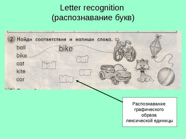 Letter recognition (распознавание букв) Распознавание графического образа лек...