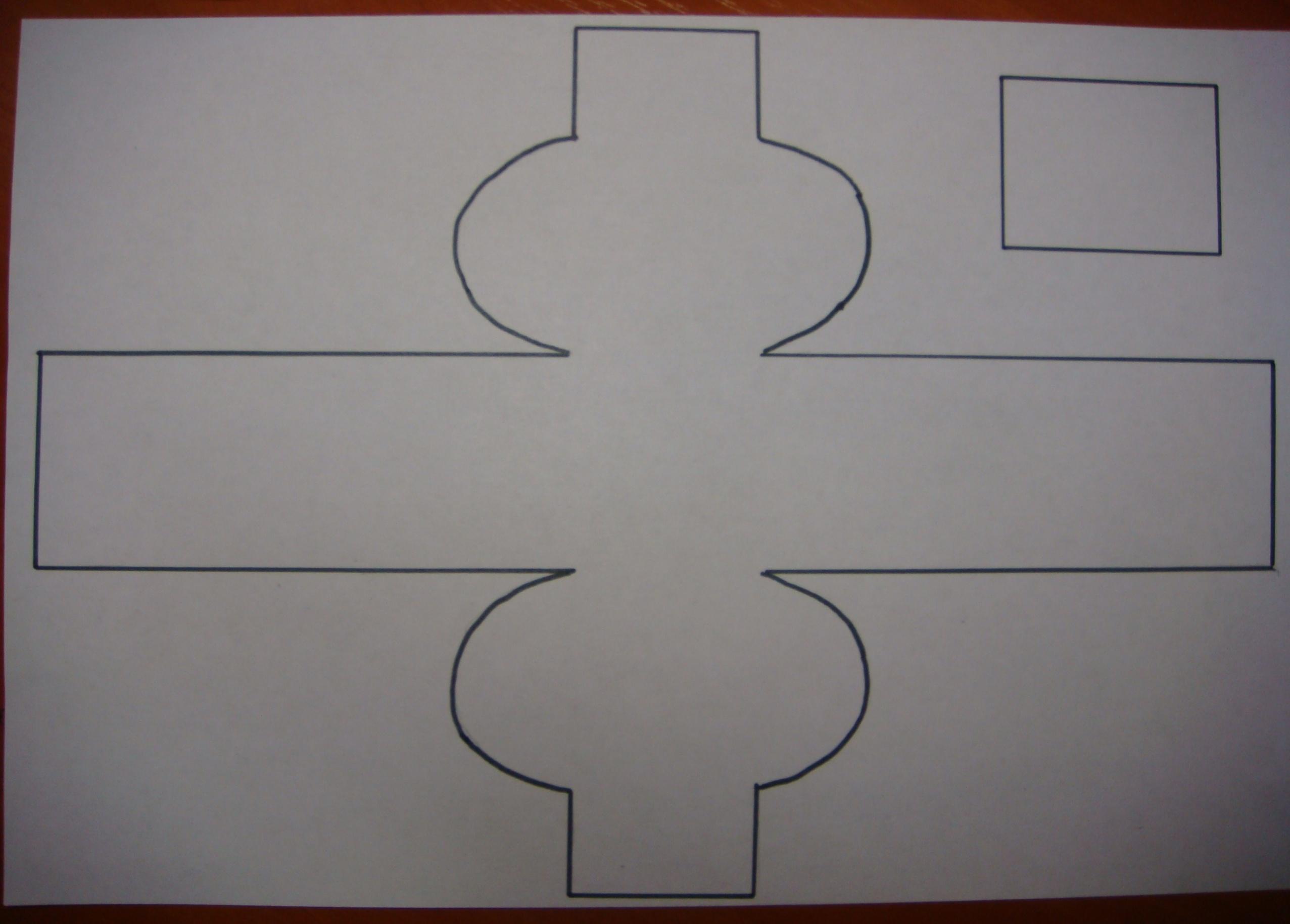 Как сделать игрушку перевёртыш из бумаги