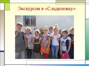 Экскурсия в «Сладкоежку»