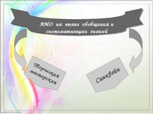 АМО на этапе обобщения и систематизации знаний Творческая мастерская Синквейн