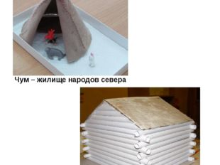 Чум – жилище народов севера Русская изба Совместная работа детей с родителями