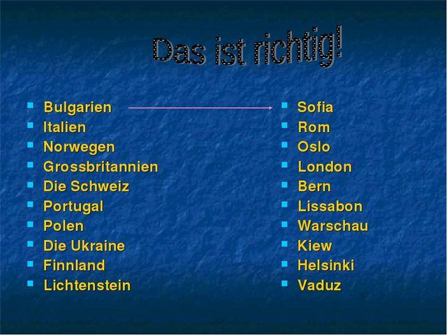 Bulgarien Italien Norwegen Grossbritannien Die Schweiz Portugal Polen Die Ukr...