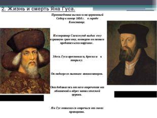 2. Жизнь и смерть Яна Гуса. Император Сигизмунд Ян Гус Проповедника вызвали н
