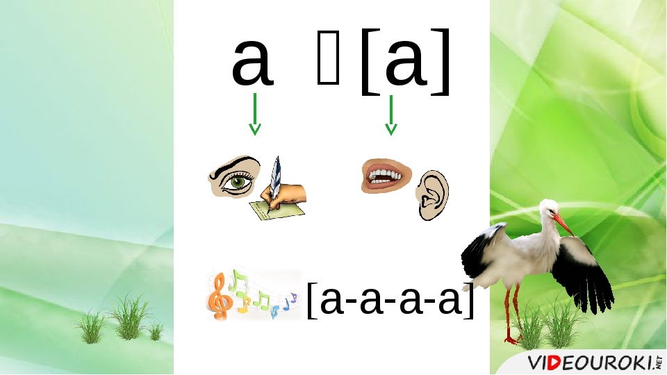 а ̶ [а] [а-а-а-а]