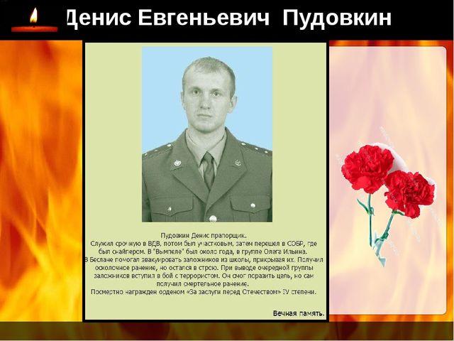 Денис Евгеньевич Пудовкин