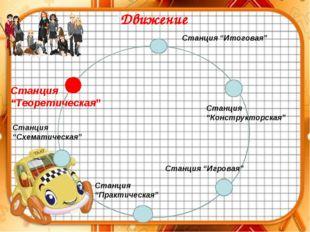 """"""" Станция """"Теоретическая"""" Станция """"Схематическая"""" Станция """"Практическая"""" Стан"""
