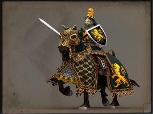 Рыцарь - это профессиональный воин, тяжеловооружённый всадник.