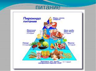 питание