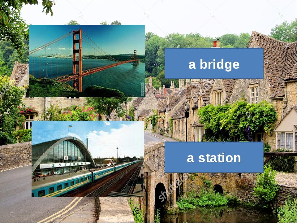 a station a bridge