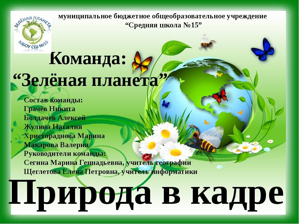 """муниципальное бюджетное общеобразовательное учреждение """"Средняя школа №15"""" Пр..."""