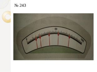 № 243