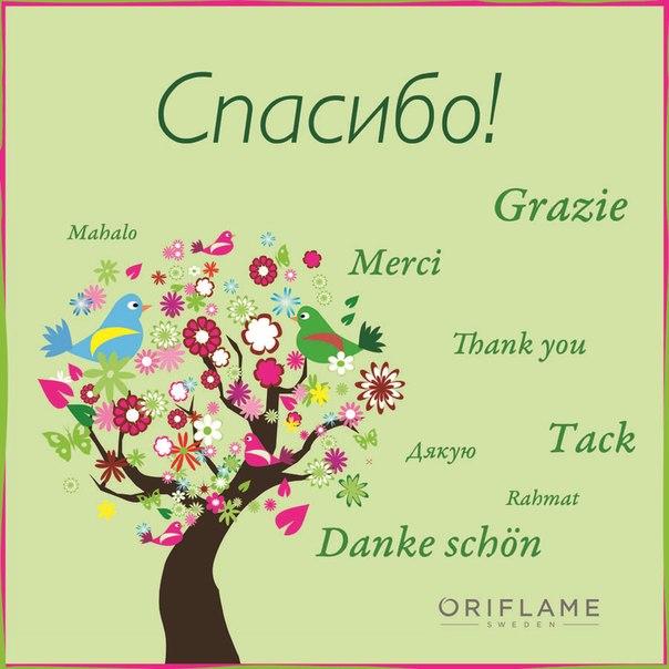 Благодарность за поздравления на немецком языке