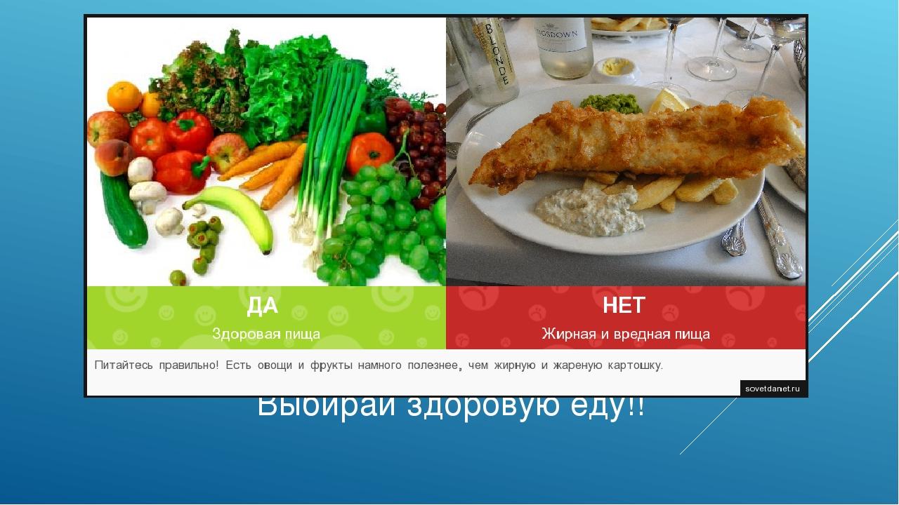 Доклад на тему здоровая пища 9673