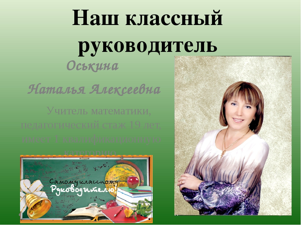 Оськина Наталья Алексеевна Учитель математики, педагогический стаж 19 лет, и...
