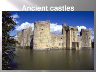 Ancient castles