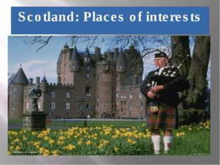Scotland: Places of interests