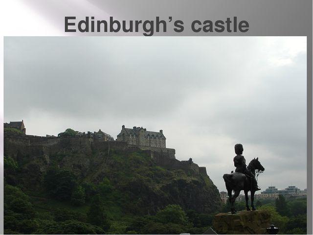 Edinburgh's castle