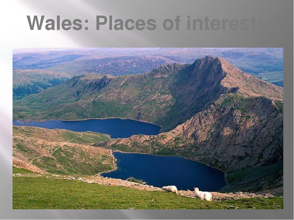 Wales: Places of interests