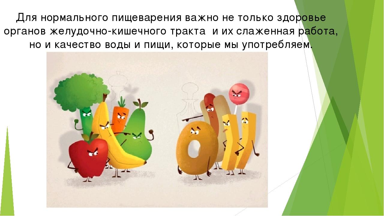 Для нормального пищеварения важно не только здоровье органов желудочно-кишечн...